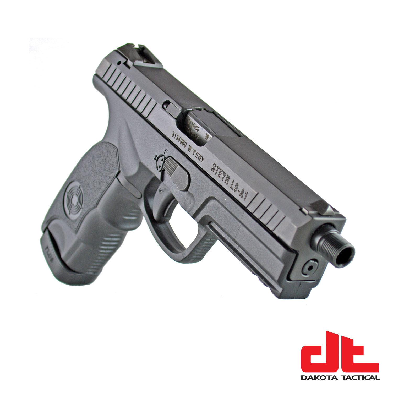 Steyr Arms L9-A1 SD 9mm Semi-Automatic Pistol BLACK